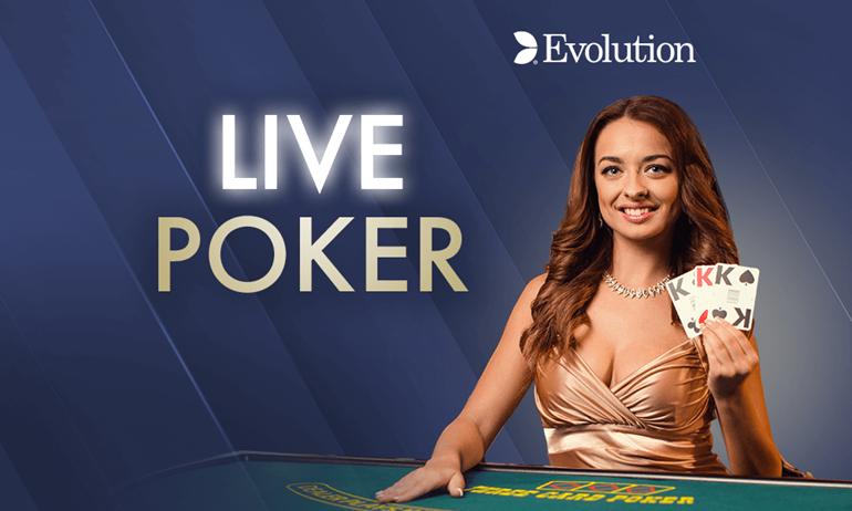 Play Live Casino Poker Online Grosvenor Casinos