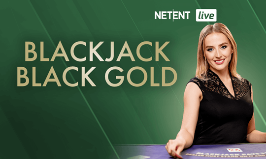 Live Blackjack Black Gold