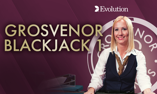 Live Grosvenor Blackjack