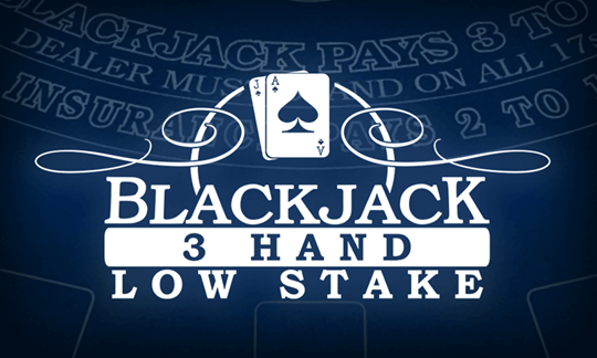 Low Stakes Blackjack