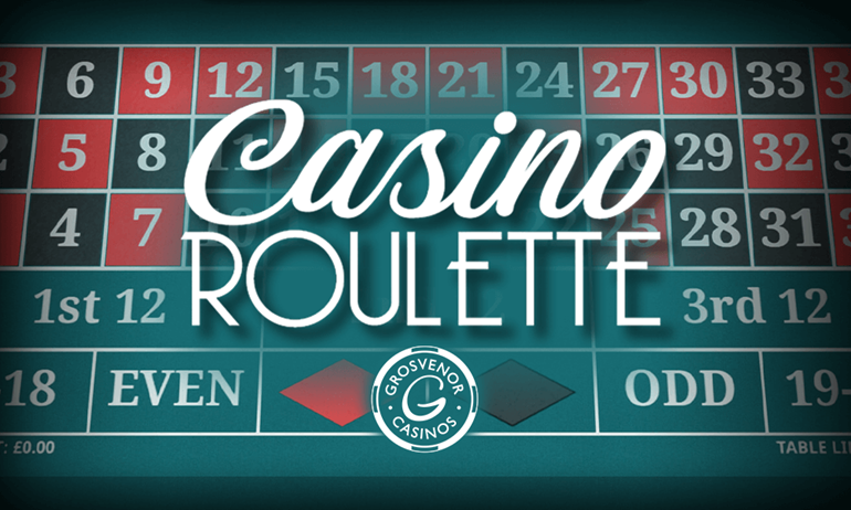 Play Casino Roulette Online Grosvenor Casinos
