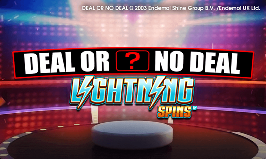Deal or No Deal Lightning Spins