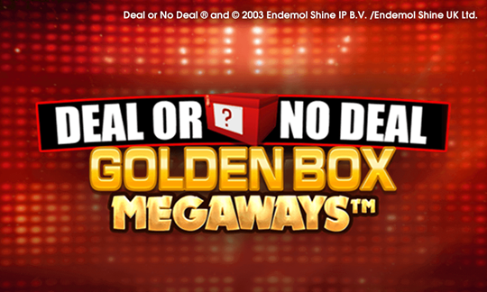 Deal or No Deal Golden Box Megaways