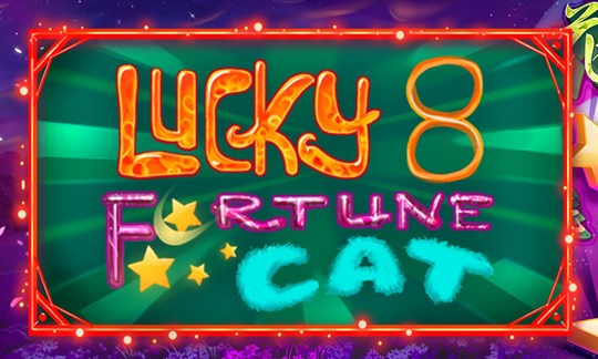 Lucky 8 Fortune Cat